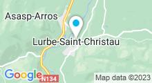Plan Carte Thermes à Saint-Christau
