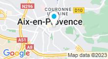 Plan Carte Spa Kanumera à Aix-en-Provence
