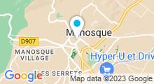 Plan Carte Spa Espace Sadhana à Manosque