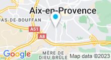 Plan Carte Spa de l'hôtel Pigonnet à Aix-en-Provence