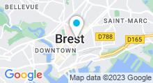 Plan Carte Spa Roselyne Foll à Brest