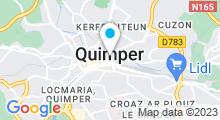 Plan Carte S Spa Zen à Quimper