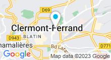 Plan Carte Spa Le bain d'orient à Clermont-Ferrand