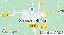 Plan Carte Thermes à Salies-de-Béarn