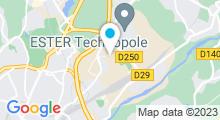 Plan Carte Spa du Domaine de Faugeras à Limoges