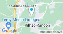 Plan Carte Centre Thalaforme à Rilhac-Rancon