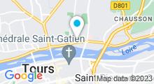 Plan Carte Spa L'Edenya à Tours