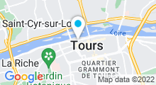 Plan Carte Spa L'Edenia à Tours
