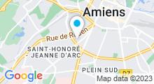 Plan Carte Spa Eden Beauté à Amiens