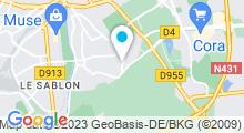 Plan Carte Spa Au Réveil des Sens à Metz-Queuleu