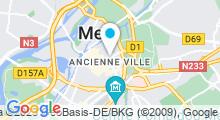 Plan Carte Spa Atypik Beauté à Metz