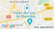 Plan Carte Spa'A à Perpignan