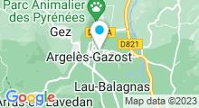 Plan Carte Thermes à Argelès-Gazost