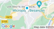 Plan Carte Spa Temple de Beauté Salomé à Besançon