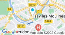Plan Carte Zen Attitude Spa à Boulogne-Billancourt