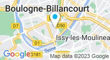 Plan Carte Spa Espace Satine à Boulogne-Billancourt