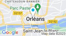 Plan Carte Spa Belles du monde à Orléans