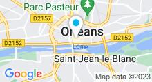 Plan Carte BalnéoSpa à Orléans
