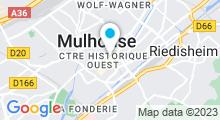Plan Carte Spa Aux mille et un soins du Monde à Mulhouse