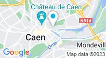 Plan Carte Spa Cocoon à Caen