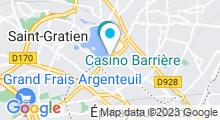 Plan Carte Spark Soins, Sport & Spa à Enghien-les-Bains