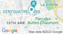 Plan Carte Hammam & Spa Les Bains d'Orient à Paris (10ème)