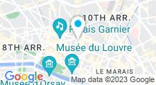 Plan Carte Spa Mont Kailash à Paris (2ème)