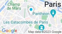 Plan Carte Hammam Pacha à Paris (6ème)