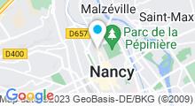 Plan Carte Spa De Sens et d'Esprit à Nancy