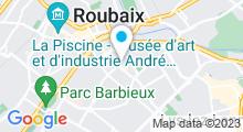 Plan Carte Hammam & Spa L'Alhambra à Roubaix