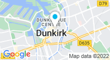 Plan Carte Spa Perle d'Or à Dunkerque
