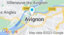 Plan Carte Spa Sadhana à Avignon