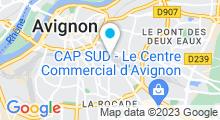 Plan Carte Spa Hammam La Sultane à Avignon
