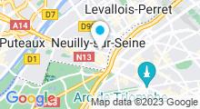 Plan Carte Spa Terre d'Iris à Neuilly-sur-Seine