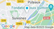Plan Carte Spa Azenka à Suresnes