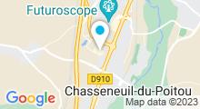 Plan Carte Institut Oasis des Sens à Chasseneuil du Poitou