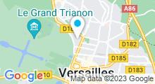 Plan Carte Spa Renaissance à Versailles