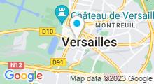 Plan Carte Spa Royale Beauté à Versailles