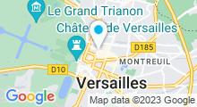 Plan Carte Spa So Blue à Versailles