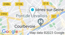 Plan Carte Spa Equiliforme à Asnières-sur-Seine