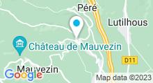 Plan Carte Thermes à Capvern-les-Bains