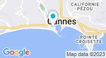 Plan Carte Thalassothérapie et Spa Les Thermes Marins à Cannes