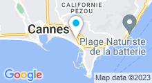 Plan Carte Beauty Spa à Cannes