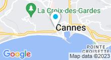 Plan Carte Spa Beau-Séjour à Cannes
