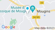 Plan Carte Spa Candille à Mougins
