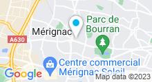 Plan Carte Spa Route du Spa à Mérignac