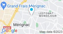 Plan Carte Spa Aquarelle à Mérignac Capeyron
