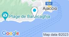 Plan Carte Serenity Spa à Ajaccio