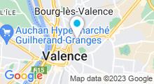 Plan Carte Spa Valence Balnéo à Valence
