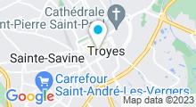 Plan Carte Spa Bio Esthétique à Troyes